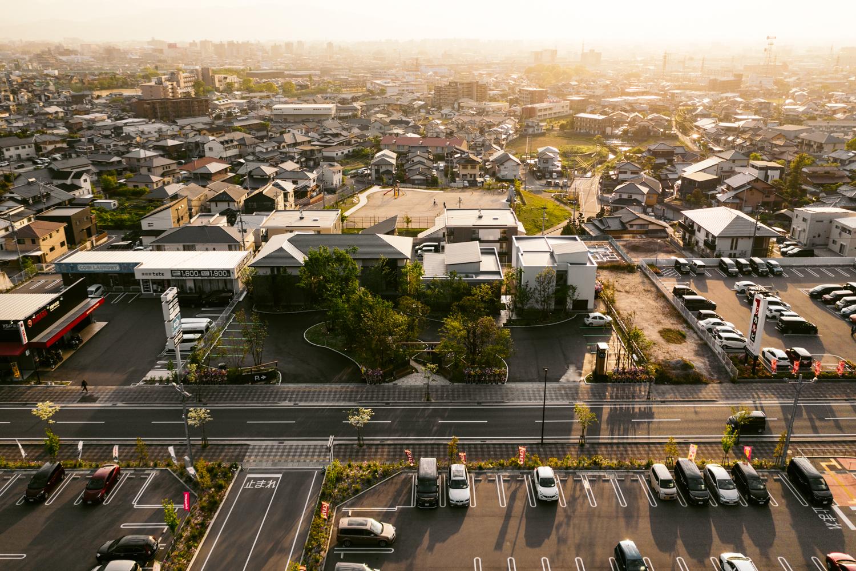 建築写真の専門家によるドローン空撮