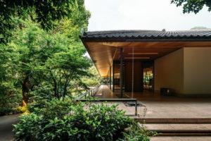 竹中大工道具館の玄関