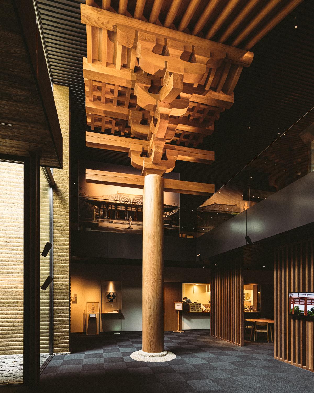 竹中大工道具館の展示