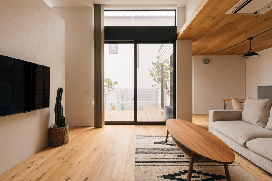 戸建て注文住宅の建築撮影
