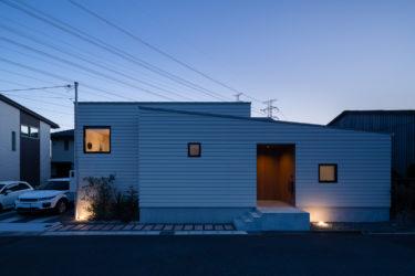 兵庫県姫路市で戸建て住宅-平屋の建築写真撮影