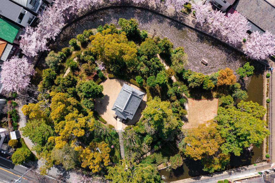 DJI Mavic 2 Proによる建築写真のドローン空撮